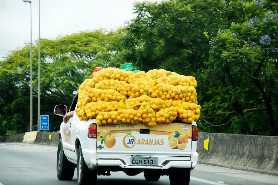 Sinaasappels in Brazilië
