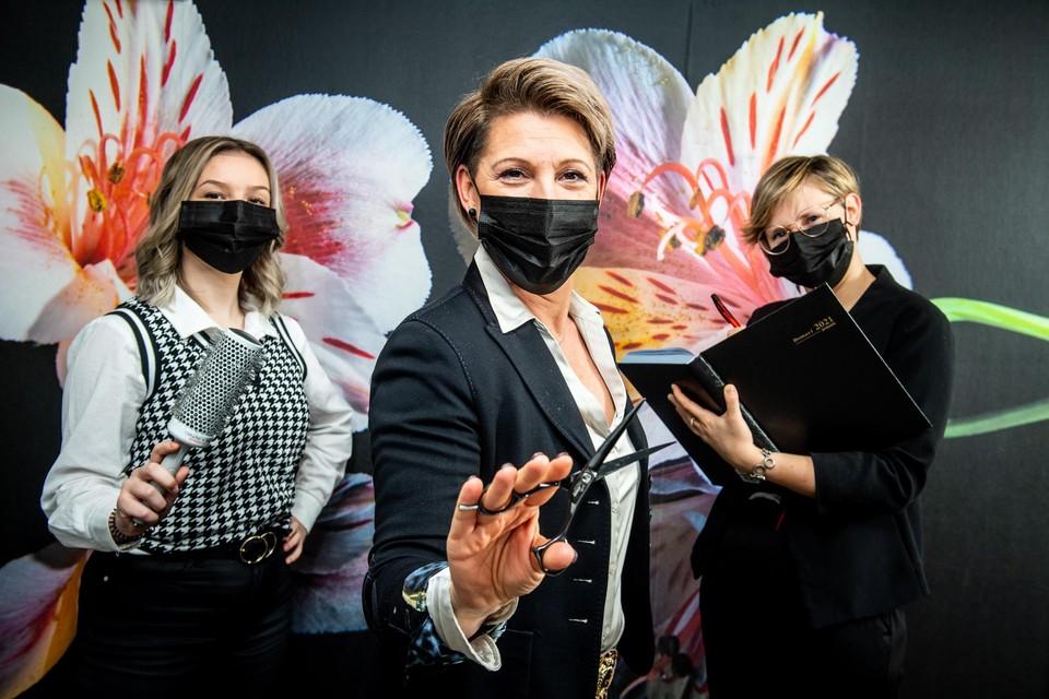 De agenda van Virginie Hair & Care in Leopoldsburg zit al vol tot 10 maart.