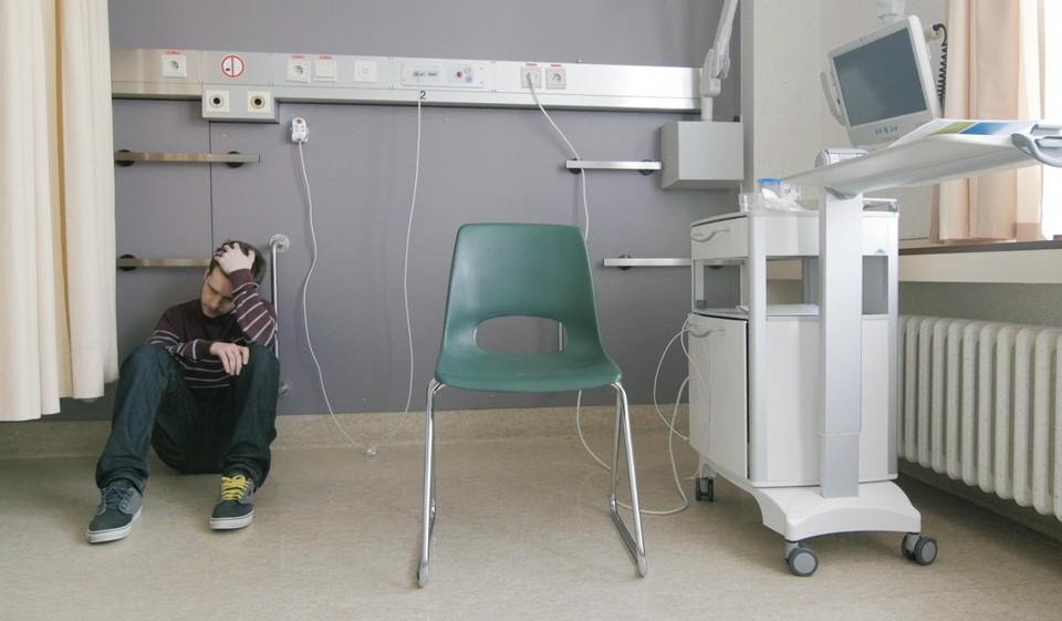 """Thomas: """"Het moment dat we in het UZ Leuven de diagnose kregen, ben ik totaal gecrasht."""""""