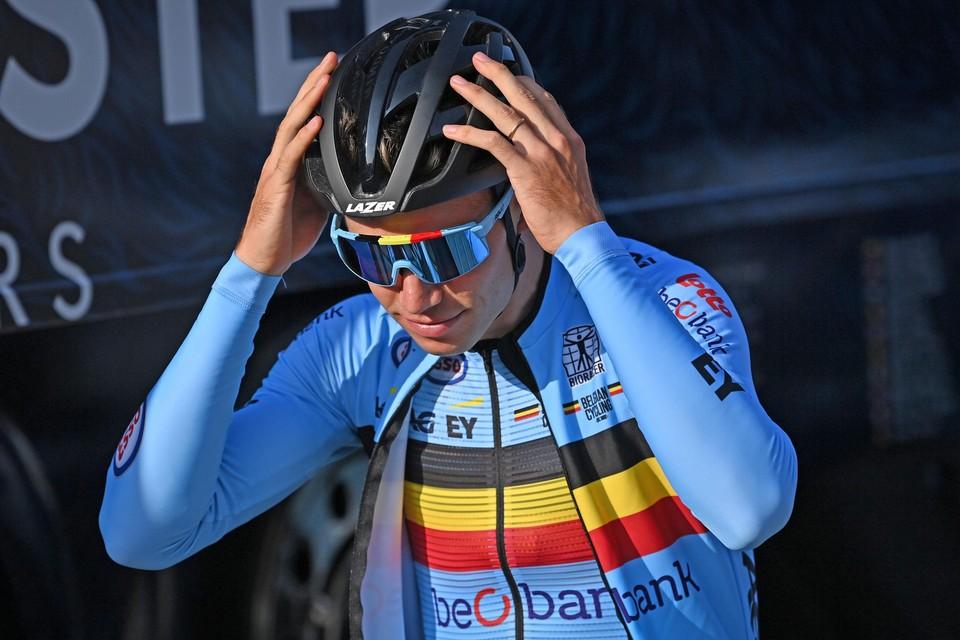 De laatste voorbereidingen zijn getroffen, zondag is het voor echt voor Wout van Aert en de Belgische ploeg.