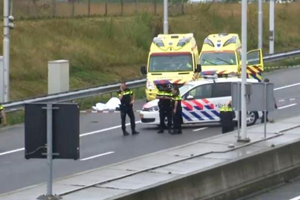 Samson Hudorovich werd voor dood achtergelaten op de A73 in Roermond. Zijn vier medepassagiers staan terecht voor de moord op Silvio Aquino, samen met Martino Trotta.