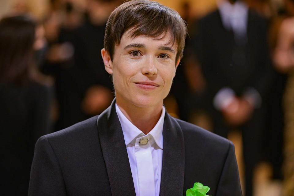 Acteur Elliot Page.