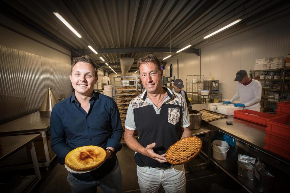 Jan Massa (links) en co-CEO Peter Vangrootloon. Vangrootloon investeerde jaren geleden al fors in extra capaciteit voor zijn productievestiging in Sint-Truiden.