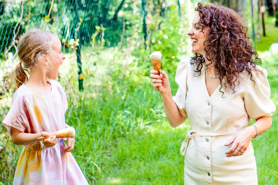 """""""Ik kan geen ijssalon meer passeren zonder dat de kinderen om een ijsje vragen."""""""
