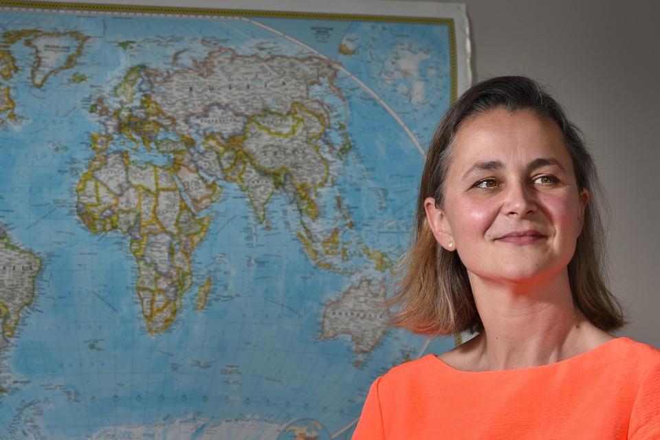 Psychologe Michelle Warriner begeleidt in Hasselt vluchtelingenkinderen, onder meer uit Gaza.