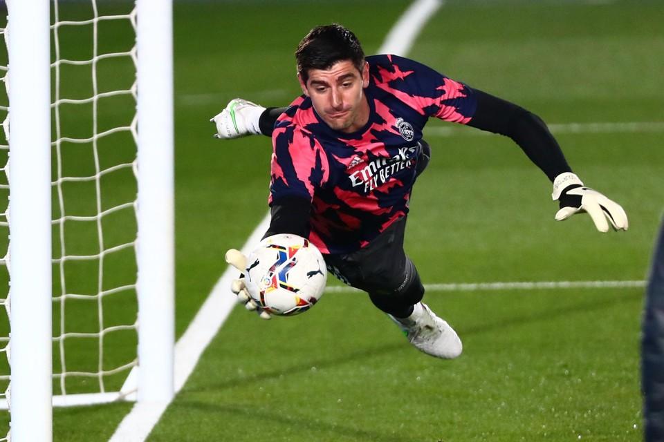 Thibaut Courtois slikte slechts drie tegengoals in acht wedstrijden tegen Atlético.