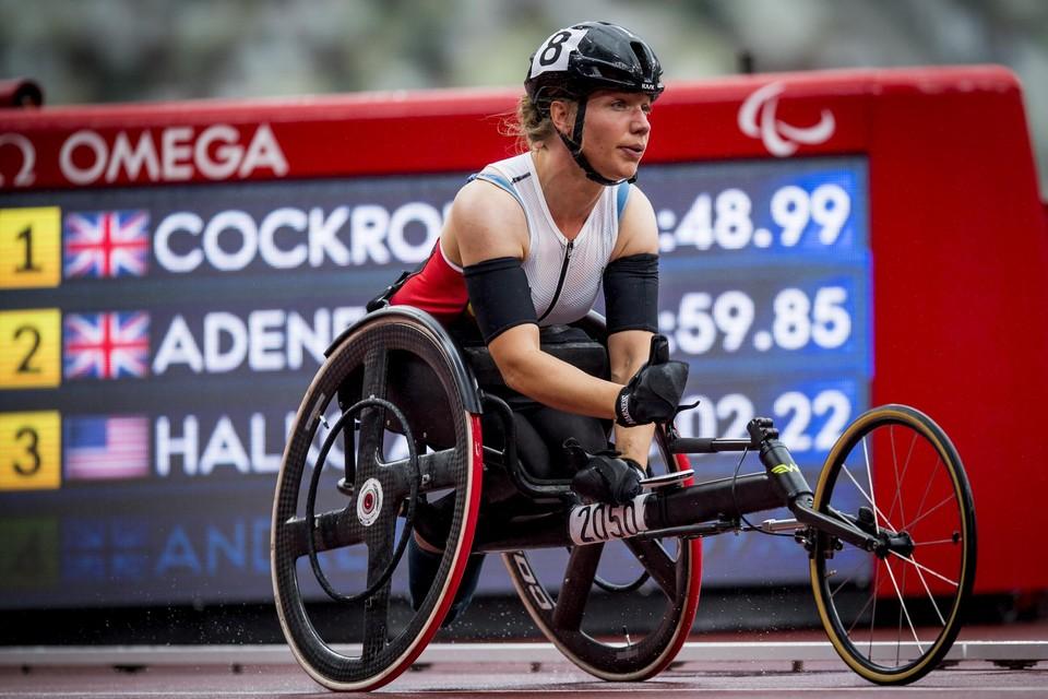 Nu blijkt er ook geknoeid te zijn met de wheeler van atlete Joyce Lefevre.