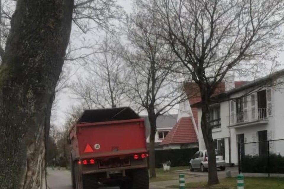De tractoren doorkruisten het hele weekend de wijken Berkenveld en Kuringen-Heide.