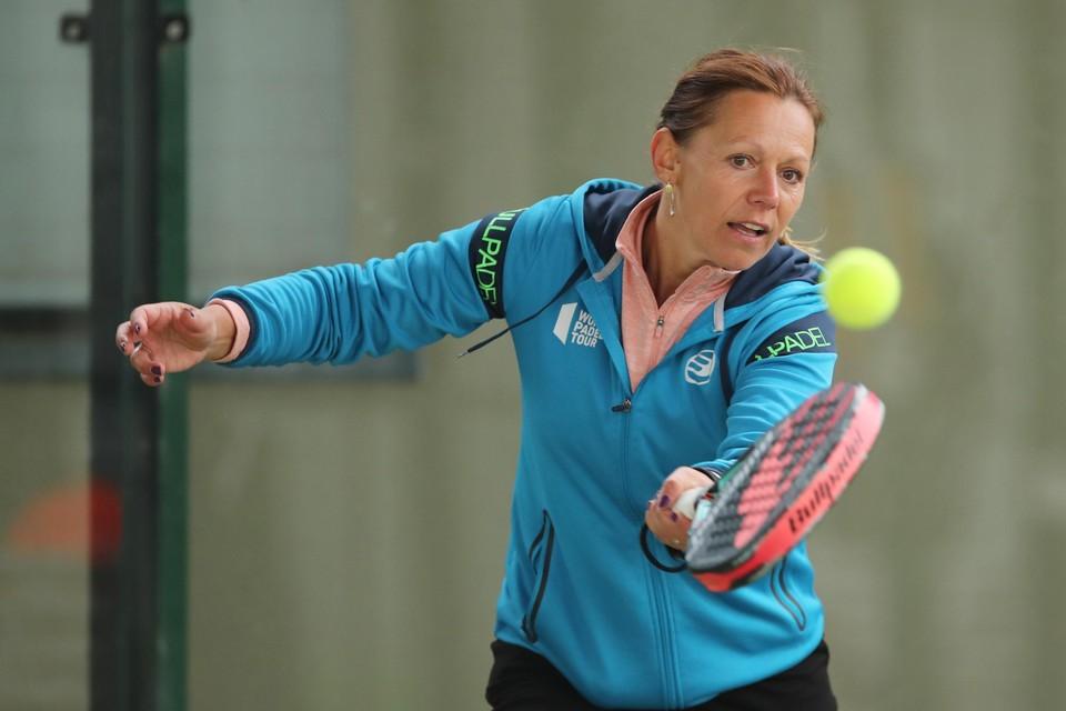 """Sabine Appelmans: """"Padellen is plezanter dan tennissen."""""""