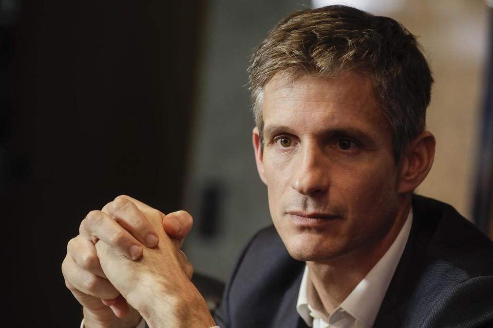 CEO Guillaume Boutin van Proximus.