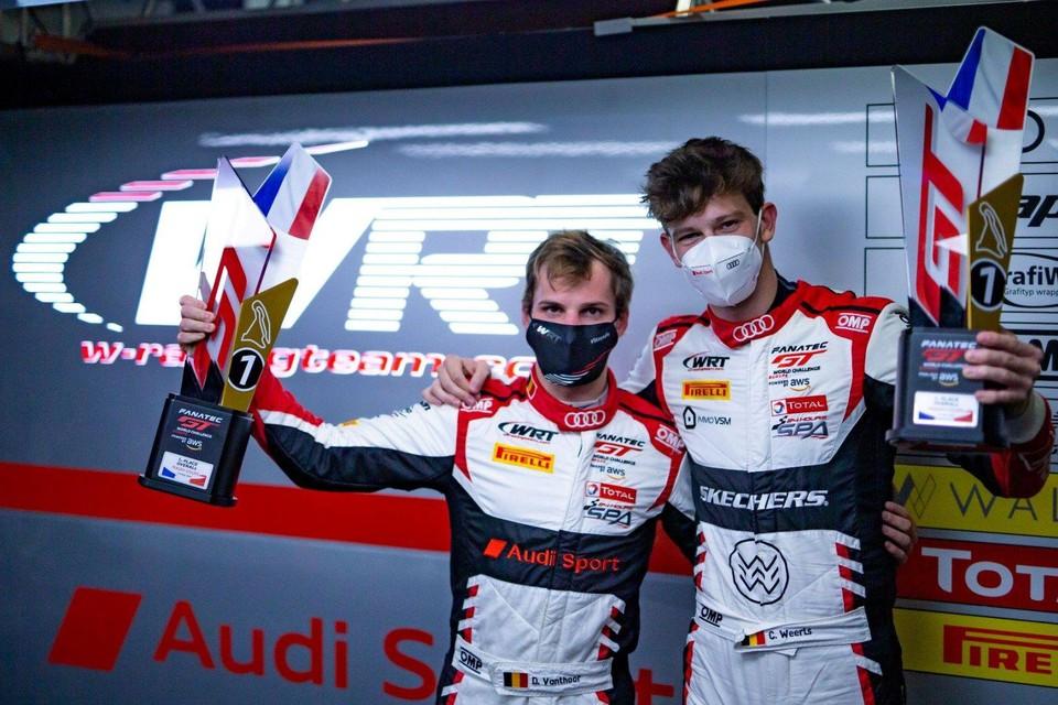 Dries Vanthoor en Charles Weerts.