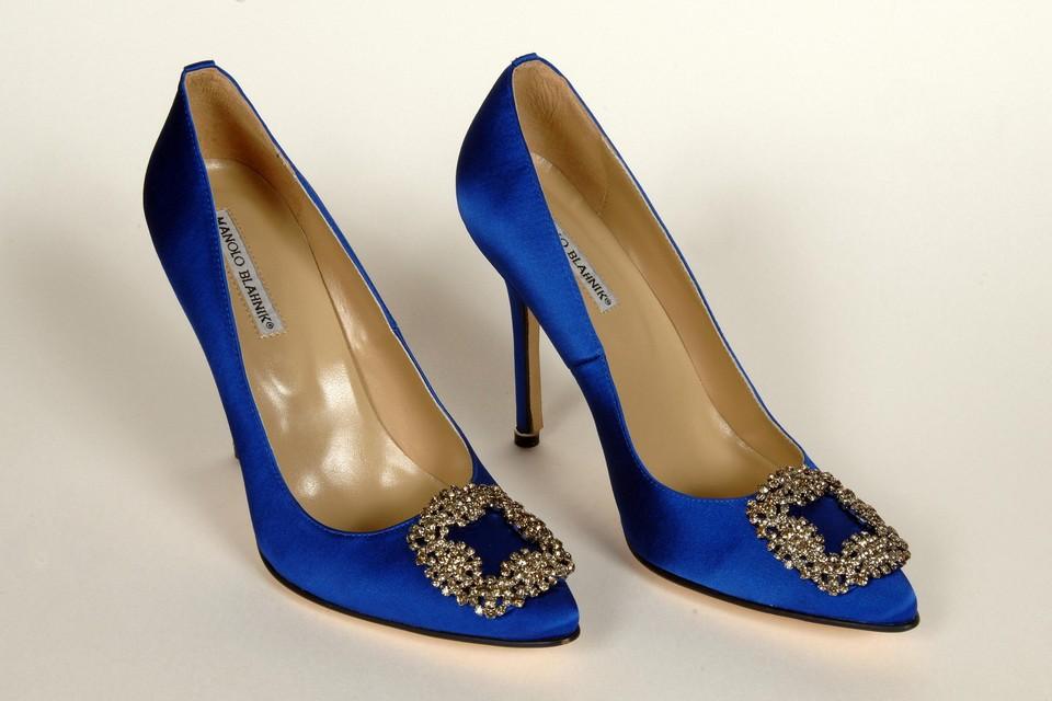 Fashionista Carrie Bradshaw uit Sex and The City was dol op haar pumps van Manolo Blahnik.