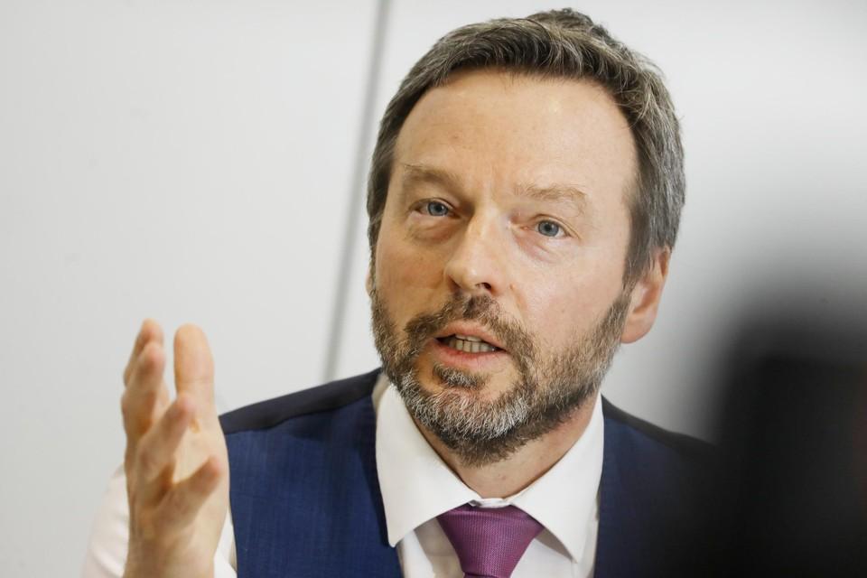 """""""Alle lichten staan op groen voor het economisch herstel"""", zegt Pierre Wunsch, gouverneur van de Nationale Bank."""
