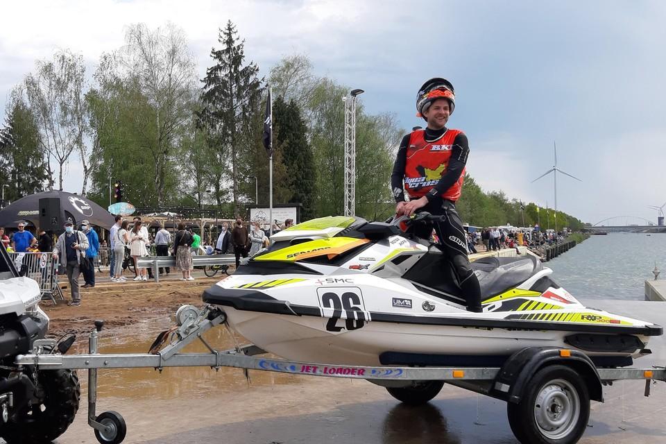 Halenaar Matthias Geerts werd knap vierde.