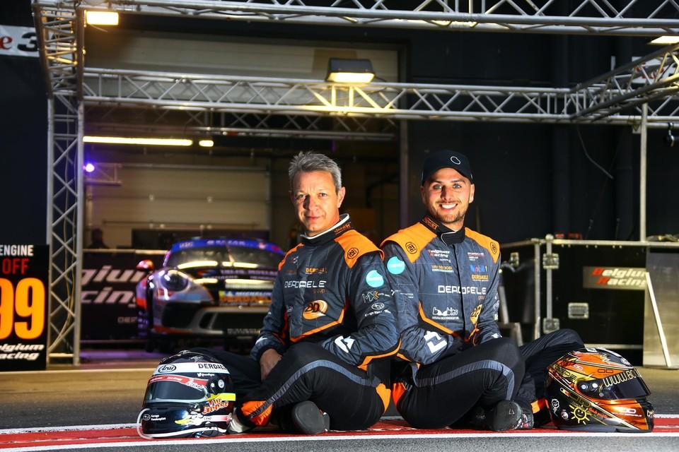Marc Goossens en Dylan Derdaele, samen goed voor tien zeges in de 24 Uur van Zolder.