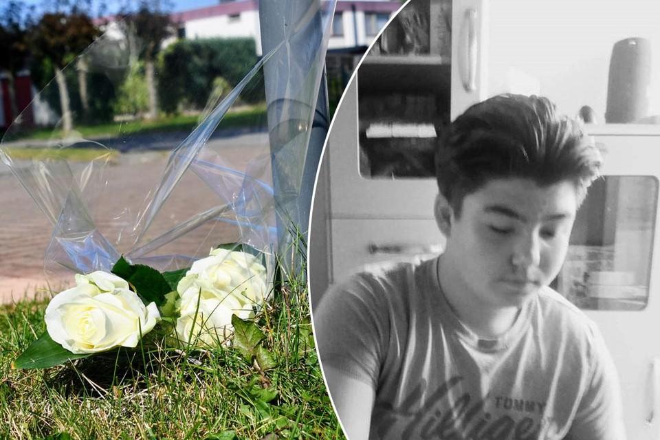 Op de plek van het drama werden afgelopen weekend bloemen neergelegd voor Milan Meert. Ook Marianne Steen ging er langs.