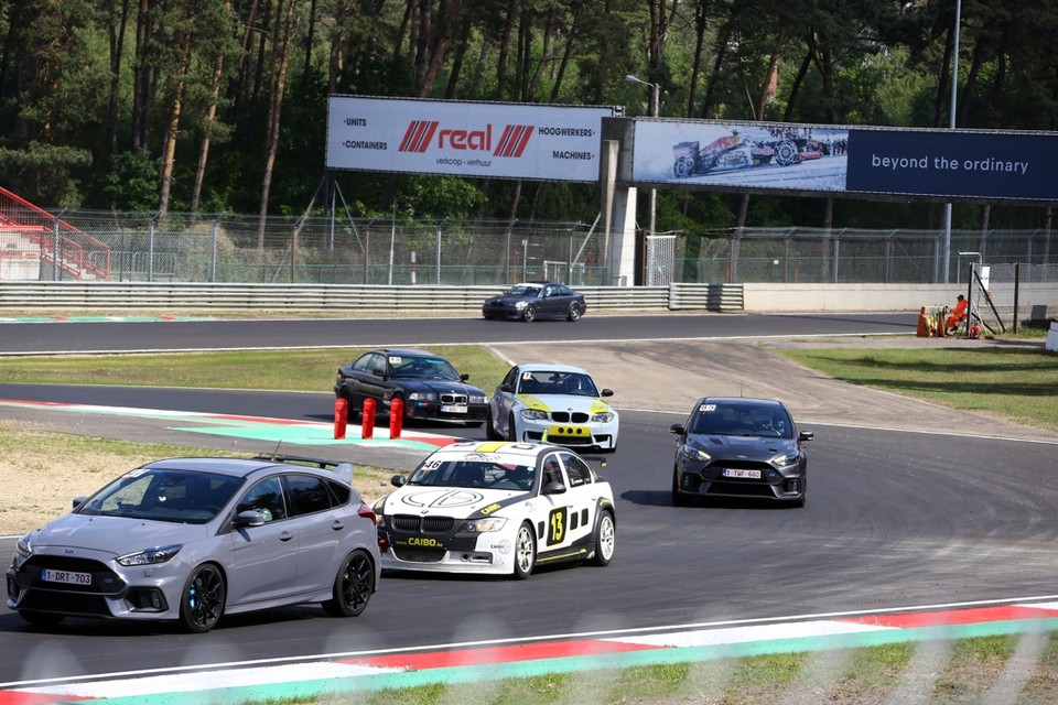 Op Circuit Zolder vond woensdag de eerste trackday plaats sinds de piste helemaal heraangelegd is.