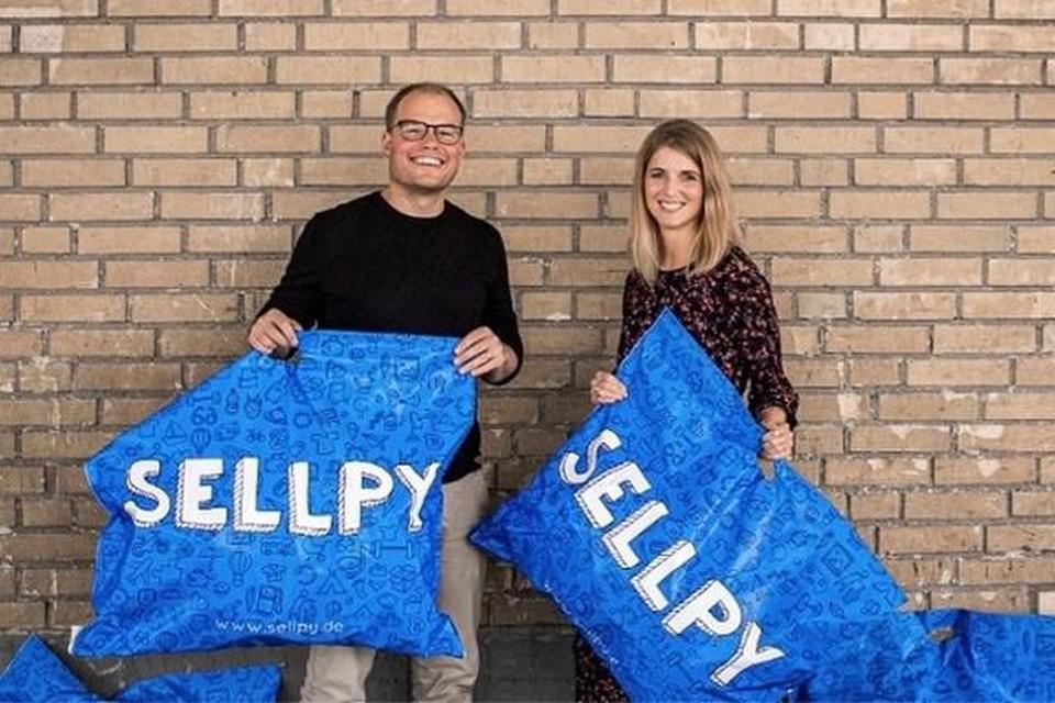 CEO Michael Arnör van Sellpy en Nanna Andersen van H&M