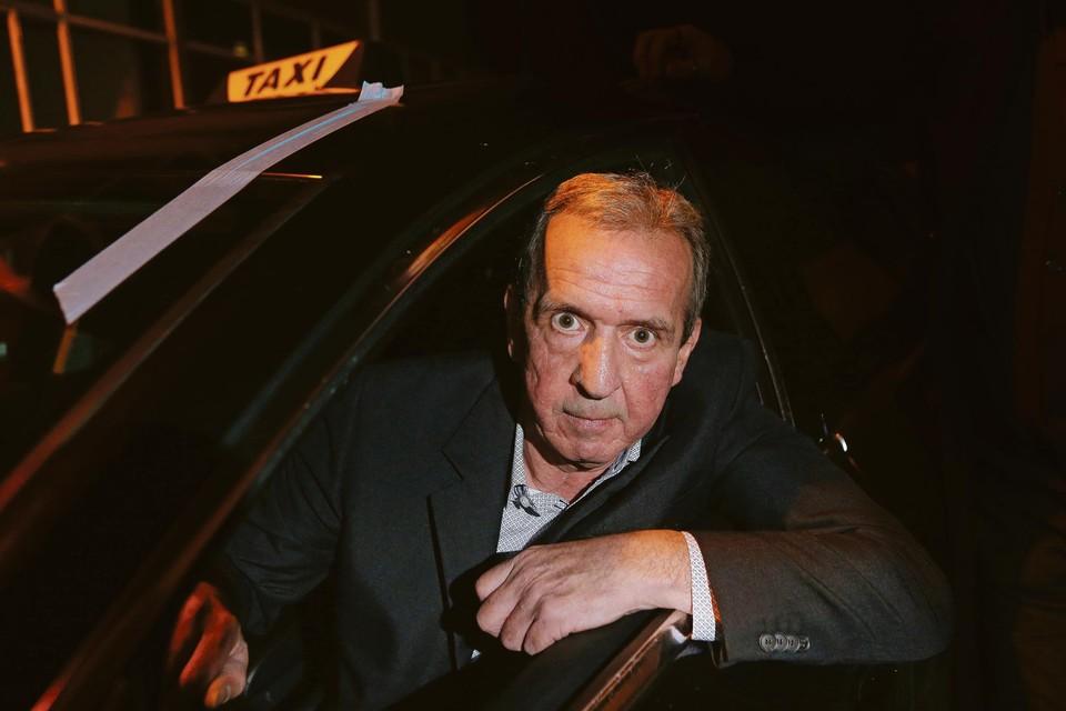 Taxichauffeur Raphaël Spapen.