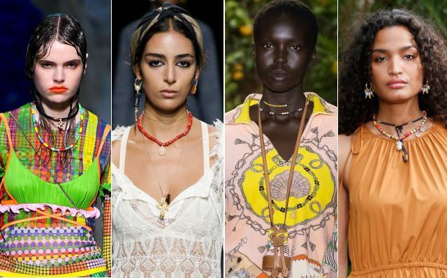 Vlnr: Versace, Christian Dior, Etro en Jason Wu