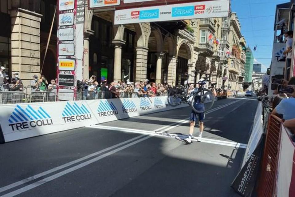 Ben Hermans: winnaar van de Ronde van de Apennijnen.