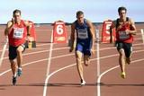 thumbnail: Niels Pittomvils (links) en Thomas Van der Plaetsen (rechts) tijdens de 100m van de tienkamp.