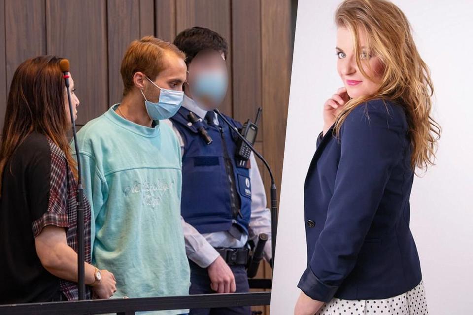 Aanklager Céline D'havé vordert de zwaarste straf voor Alexandru Caliniuc.