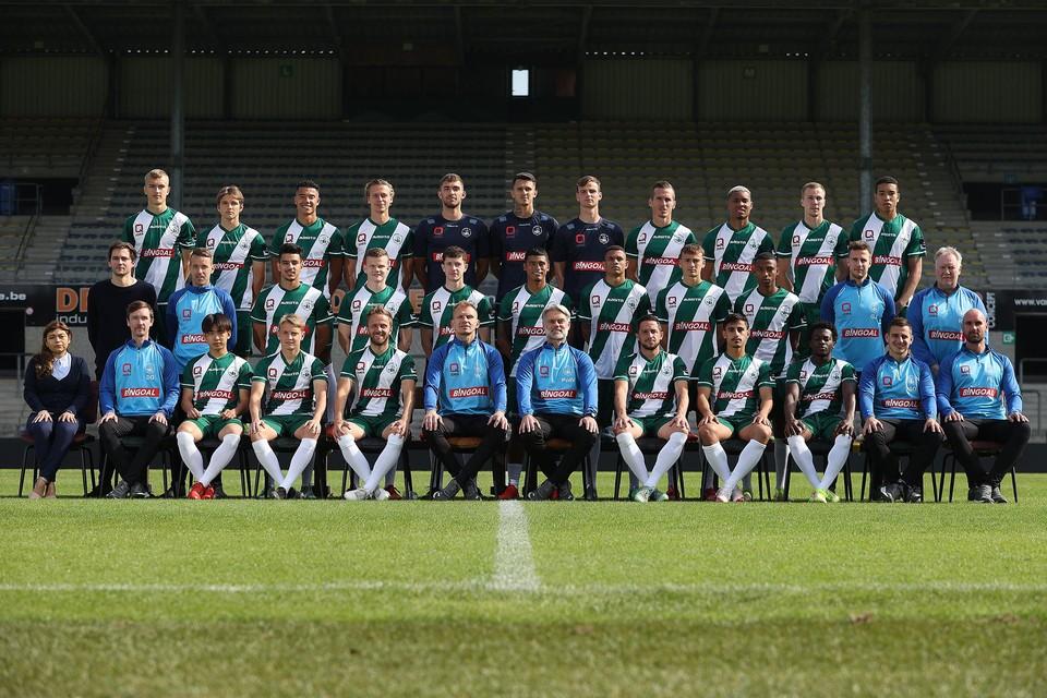De nieuwe ploegfoto van Lommel SK.
