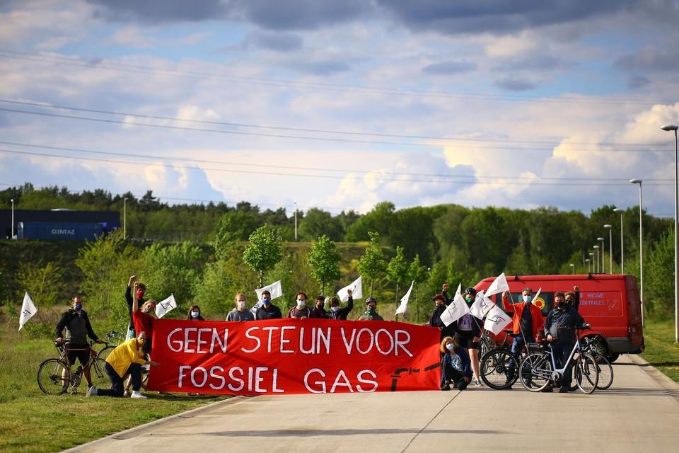 Al maanden wordt er hevig protest gevoerd tegen de komst van de gascentrale.