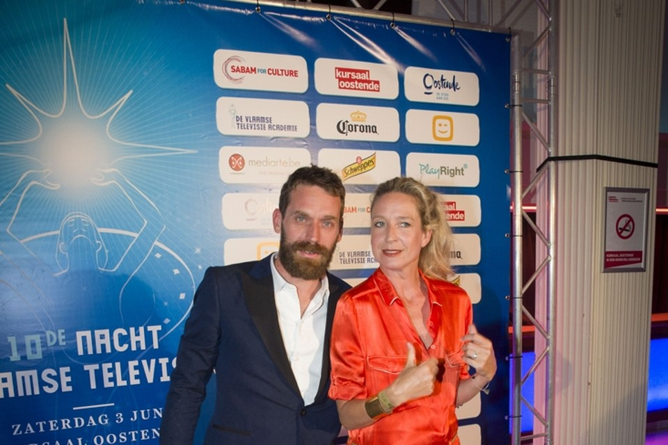 <P>Otto-Jan Ham en Cath Luyten</P>