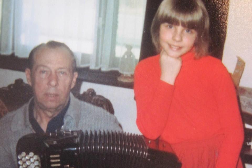 Leo Kasprzak en dochter Christie.