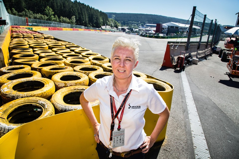Nathalie Maillet was sinds 2016 directrice op Spa-Francorchamps.