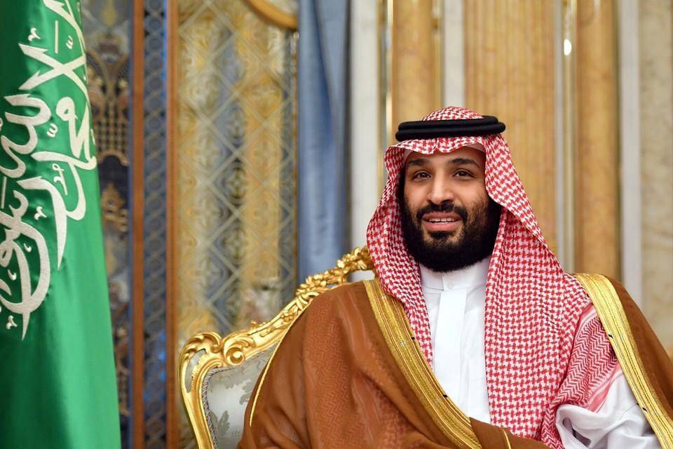 Kroonprins Mohammed Bin Salman