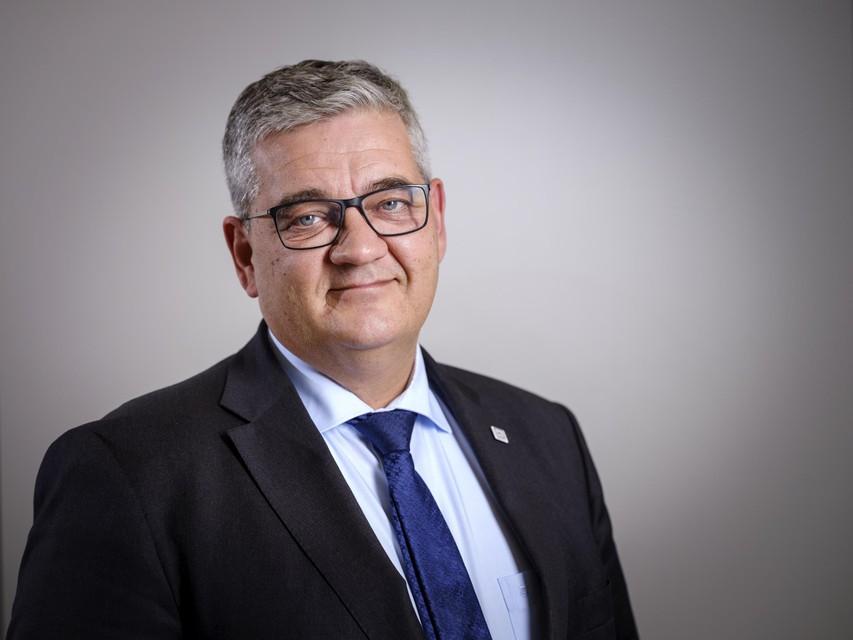 Burgemeester Steven Vandeput