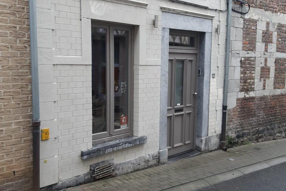 Het vakantiehuis in de Muntstraat in Tongeren.