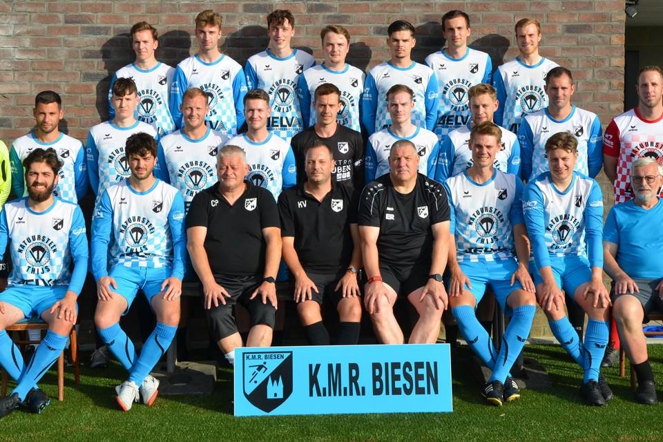 KMR Biesen is volgens de trainers de titelfavoriet in 3A.