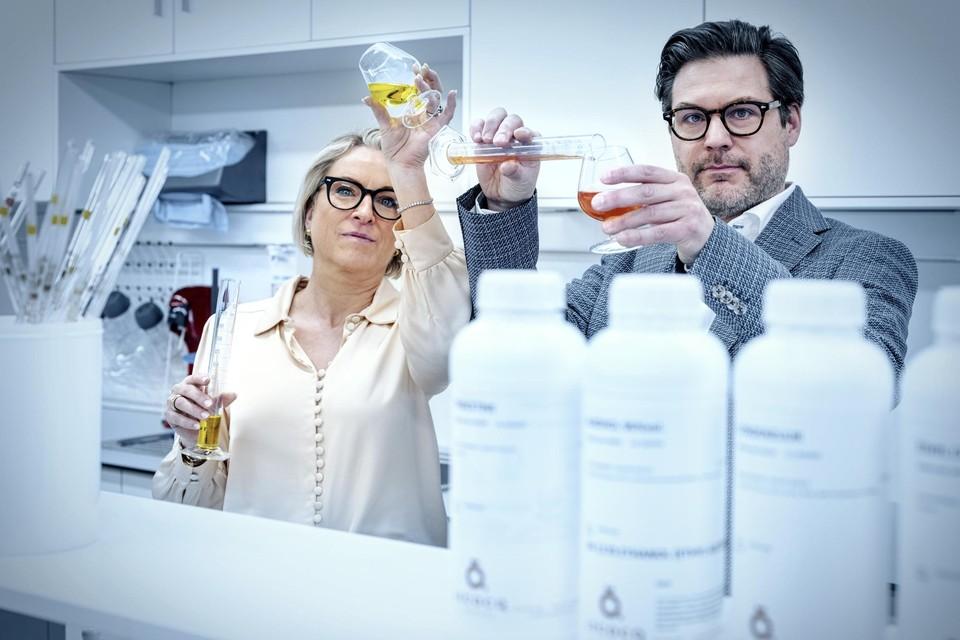 """Eveline Sticker en Olivier Lecocq van Lecocq Flavours: """"Wij discussiëren dagelijks over smaken en kleuren. Dat is onze corebusiness."""""""