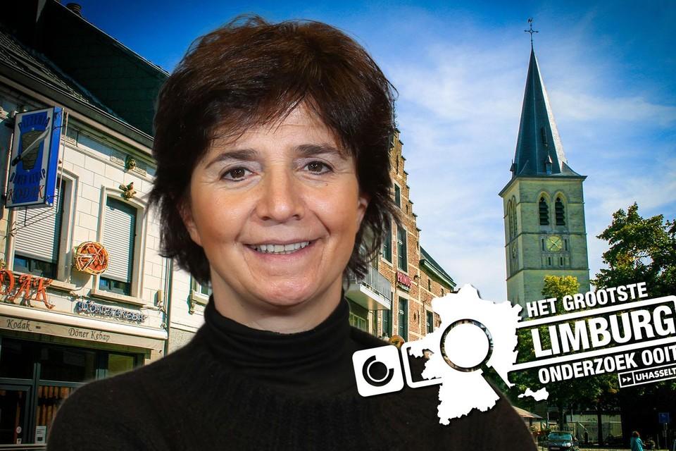 Burgemeester Liesbeth Van der Auwera.