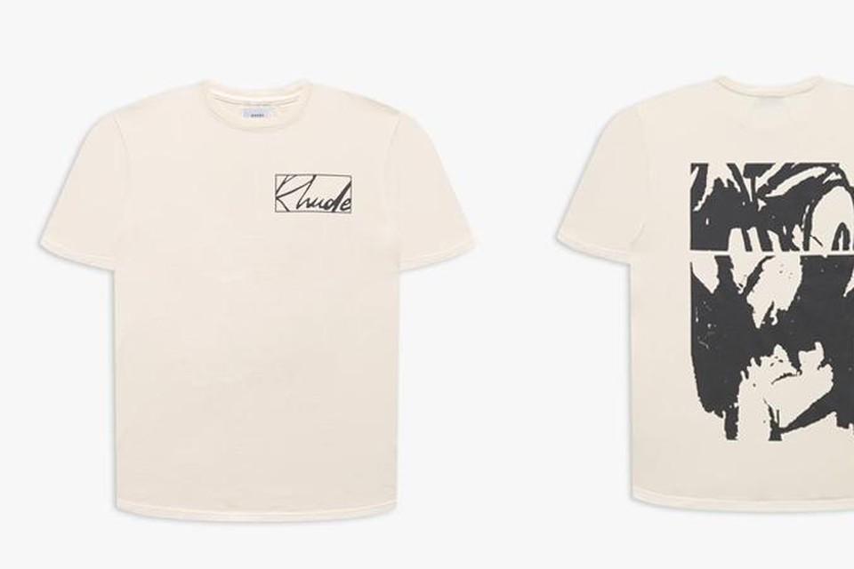 T-shirt voor- en achterkant