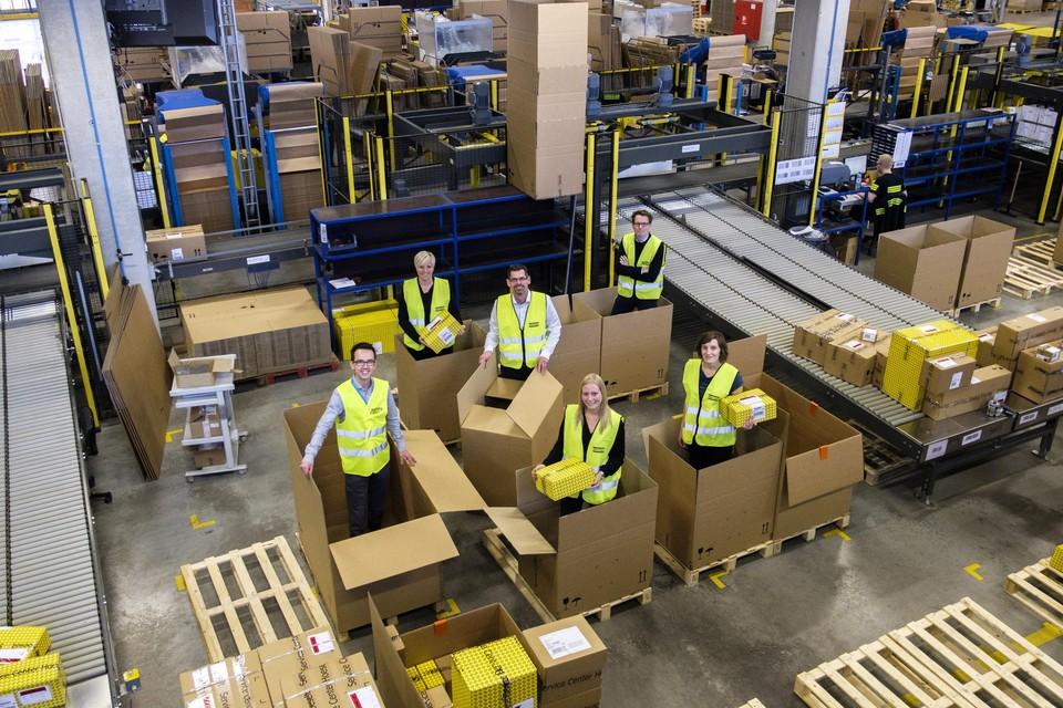 Atlas Copco beschikt in Hoeselt over een belangrijk distributiecentrum.