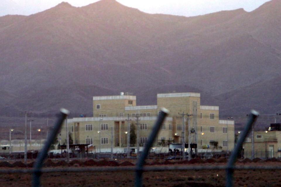 Iraanse nucleaire installatie in Natanz