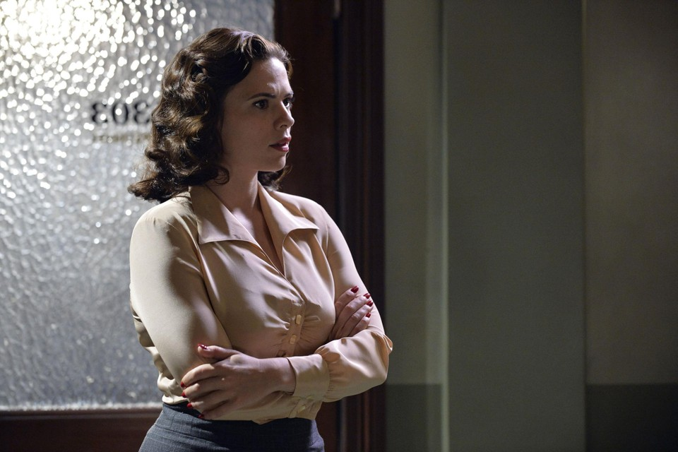 Hayley Atwell in 'Agent Carter'.