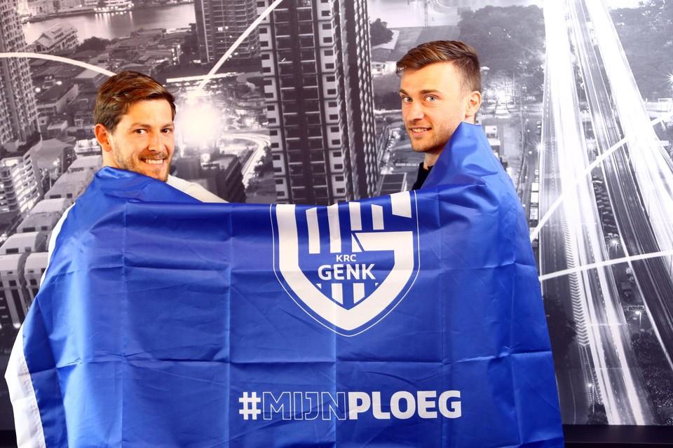 Patrik Hrosovsky en Bryan Heynen: straf duo op het middenveld.