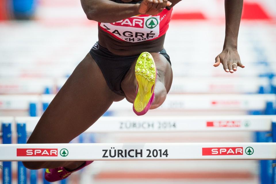 <P>3. Anne Zagré (24 jaar) (100 meter horden: 25 procent kans op een medaille).</P>