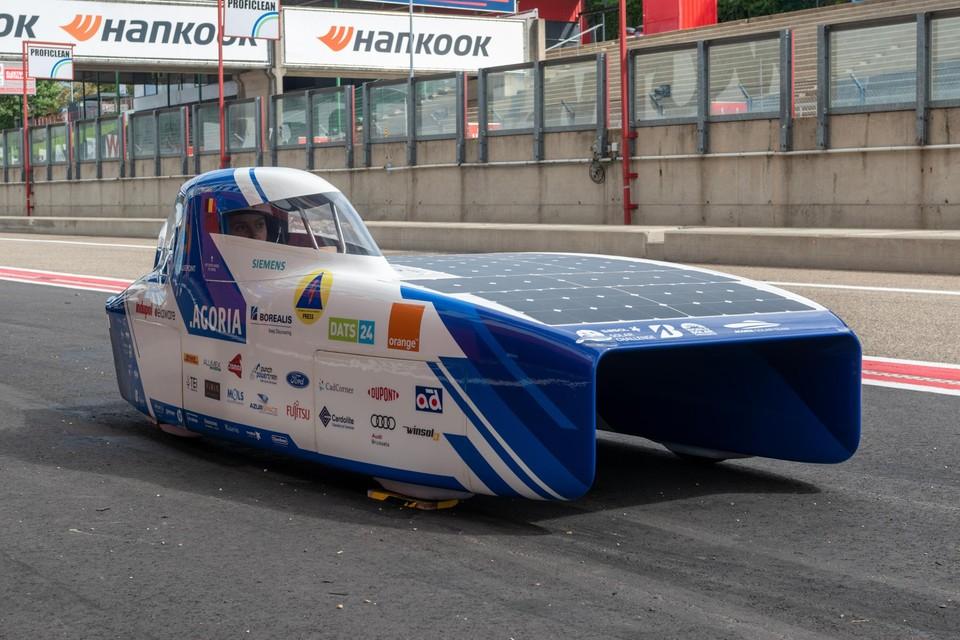 De BluePoint moet na de wereldtitel ook de Europese winnen, dit weekend op Circuit Zolder.