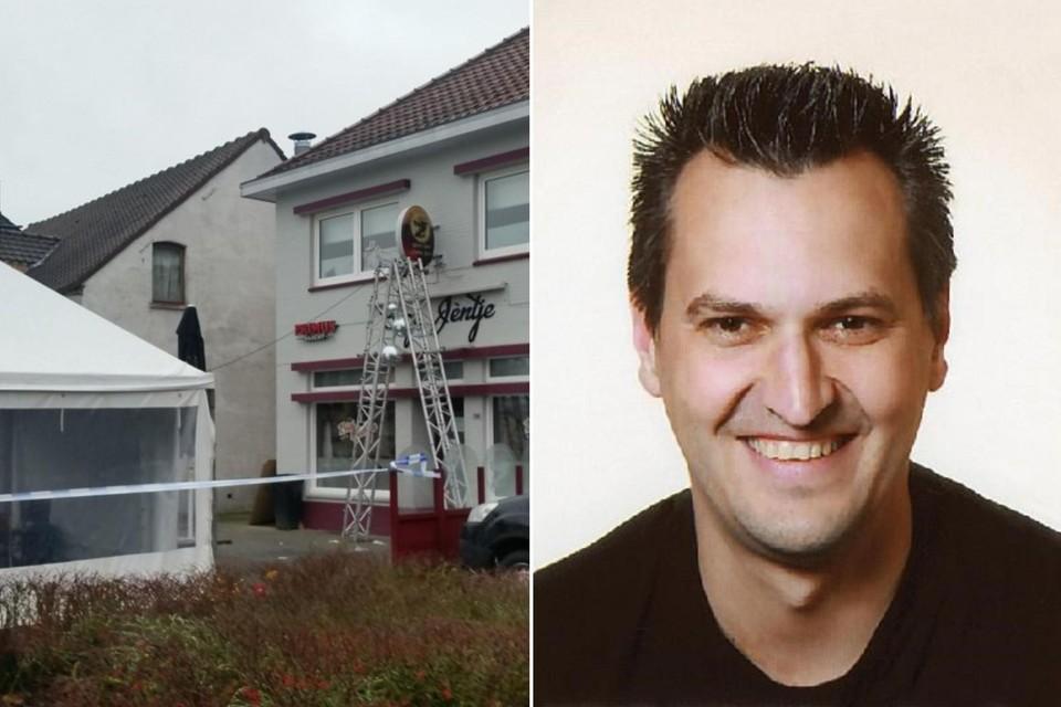 Slachtoffer Tom Schouteden viel na een klap ongelukkig op het hoofd.