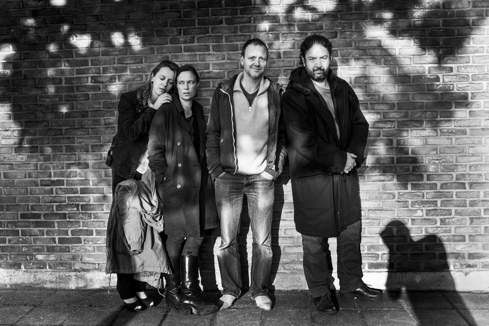 Van links naar rechts Sara De Bosschere, Sofie Sente, Robby Cleiren en Luc Nuyens.Stef Stessel