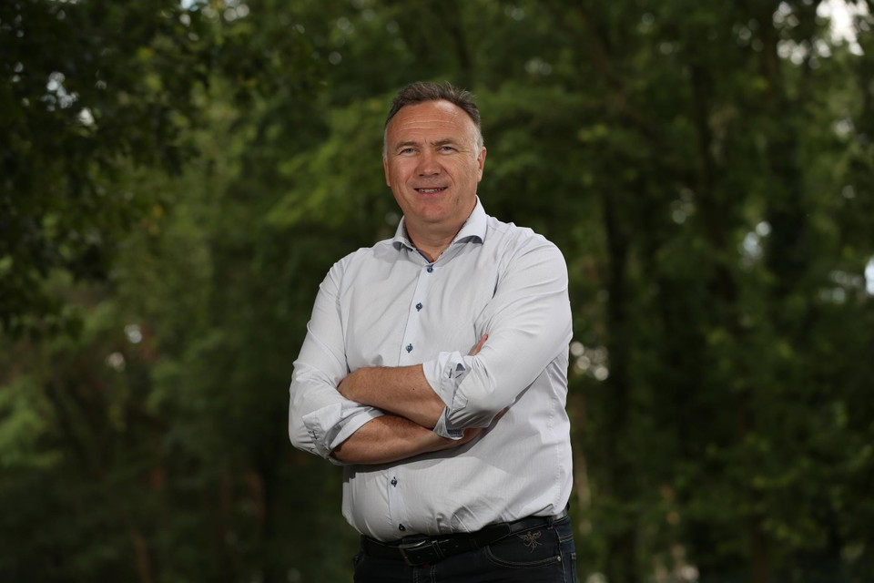 Burgemeester Tollenaere.