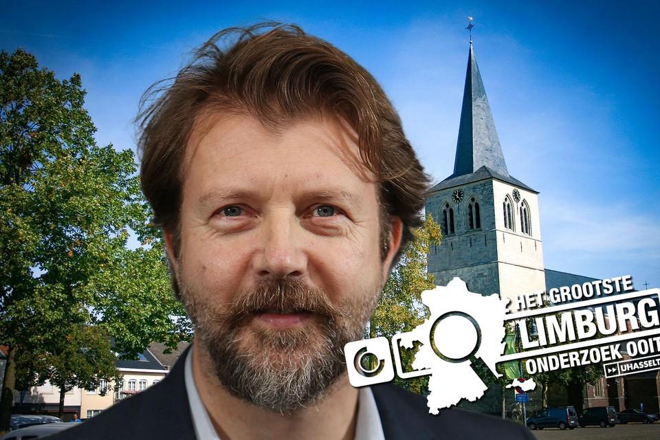 Burgemeester Stijn Van Baelen.