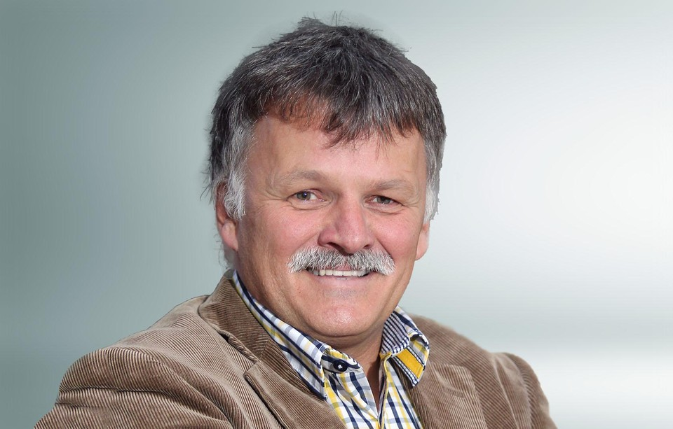 Burgemeester Rik Kriekels van Diepenbeek.